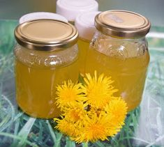 Edible Wild Plants, Wild Edibles, Preserves, Sweet Recipes, Mason Jars, Honey, Cooking, Desserts, Avril