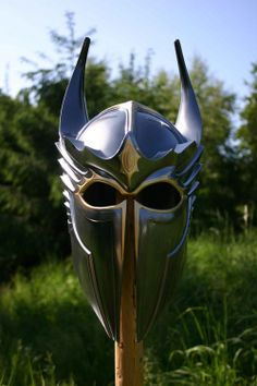 Gryphon knight plate helm with dragon motif. $190.00, via Etsy.