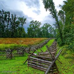 Watt's Farm Road Gaines' Mill Unit Richmond National Battlefield Park Hanover County Virginia #RVA #VisitRichmond #loveva #nature #naturaleza #naturelovers #nationalpark #civilwar #landscape #view #travel #clouds #sky #skyporn #nikon #beautiful #colorful #picoftheday #photooftheday #summer #love #igers #trees by rylandbowery