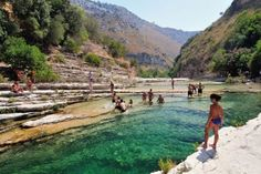 Perfect pools for jumping, skinny dipping, swimming, canoeing and wild camping