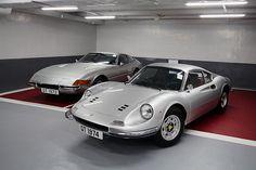 Ferrari Dino GT and Ferrari Daytona