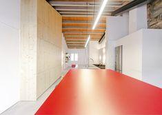 open space, living room design