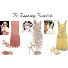 The Roaring Twenties by seidsonstephens on Polyvore
