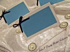 Blank Wedding Table Name Tags  set of 50 by cuteNtrendy on Etsy, $75.00