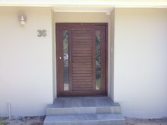 New PD80 pivot door.  Pre-sealed, pre-glazed.  Ask for Ready 2 Fit