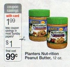 Starting Sunday: Get Planters Nut-rition Peanut Butter As Low As $0.49!