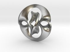 Check out Antichron Pendant for Precious Metals by Bathsheba on Shapeways and discover more 3D printed products in Pendants.
