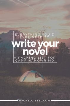Perhaps you're ready to attack Camp NaNoWriMonext month or classic NaNoWriMoin November. Perhaps you're just embarking on your own personal writing quest on your own schedule. The truth is, you want to write a novel, and that's awesome! You're about to do an amazing thing. It's going to be difficult. It's going to be a challenge. But it's going to be well worth it.Before you get started with your novel, you have to be prepared. There's a lot of time, effort, and energy that go into…