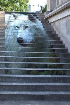Street Art stairway