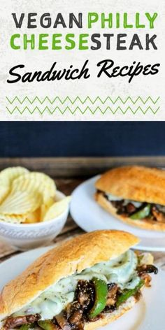 You'd be surprised how easy it is to make a vegan Philly cheesesteak sandwich. This recipe barely takes 20 minutes to prepare perfect for anytime meal. The best homemade cheesesteak sandwich is stuffed with seitan strips, shredded mushrooms, and tofu. Caramelized onion and peppers just enhances the flavor topped with cheesy sauce. #phillycheesesteak #vegansandwich #veganmeal #cheesesteak #meatlessmonday Zucchini Dinner Recipes, Vegetarian Recipes Dinner, Vegan Dinners, Easy Healthy Recipes, Vegan Snacks On The Go, Healthy Vegan Snacks, Vegan Lunches, Vegan Philly Cheesesteak, Cheesesteak Recipe