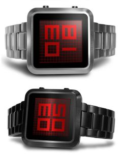 Tokyoflash Kisai Maze LCD Watch