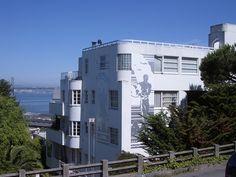 The Malloch Building - Art Deco on Telegraph Hill, San Francisco