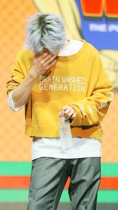 Chanyeol (love the shirt btw)