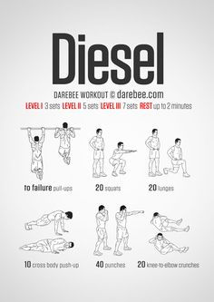 Diesel  Workout | Posted By: AdvancedWeightLossTips.com