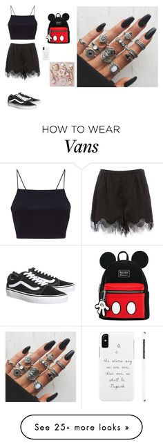 """""""Untitled #580"""" by vaicekauskaite on Polyvore featuring Vans"""