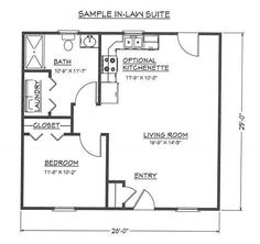 Granny pods shed Granny pods - grannypods Small House Floor Plans, Cottage Floor Plans, Cabin Floor Plans, Cottage Plan, Backyard Guest Houses, Backyard Cottage, Br House, Tiny House Cabin, Cottage House