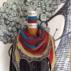 Holyrood tricotado pela Tatá em Olívia  #ovelhanegrayarns #lojaovelhanegra #ovelhanegraolivia