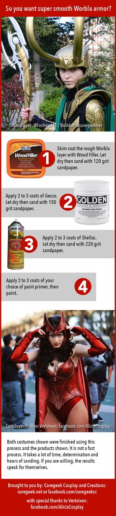 Want really smooth Worbla armor? Here's how to do it.