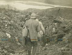 """tuttieroi:  Italian trench, WWI  Just finished""""Viva Caporetto!"""" by Curzio Malaparte. Great book dealing with war, early XXth century politics and human suffering with a great sense of poetry."""
