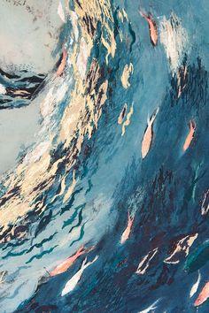 "Nicola Henley ""Gulls and Coral Fish""  2011"