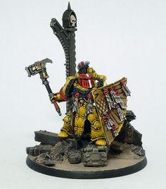 40k - Pre-heresy Imperial Fist Champion