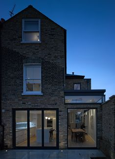 Rear #extensions | Private house | Salcott Road, London SW11 looks like a neat renovation