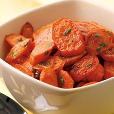 Chili Roasted Carrots