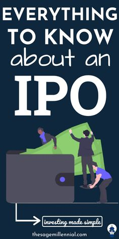 Of course, you've heard that a company went public and the people that invested in it made a fortune. It's a classic IPO story, but the grass isn't always green, an investor must make an informed decision before investing in an IPO. IPO stands for Initial Public Offering and is the process of offering shares of a private company to public investors. This is the first time the company issues its shares to the public. Bombay Stock Exchange, Aadhar Card, Secondary Market, Initial Public Offering, Good Credit Score, Make Millions, Best Investments, Investing Money, Money Tips