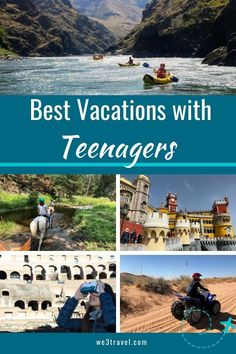 Looking for family vacation ideas with teenagers? We have 18 summers with our kids, make each trip count with these 10 best vacations for teens. Best Family Vacation Spots, Best Summer Vacations, Best Island Vacation, Vacations In The Us, Spring Break Destinations, Family Travel, Cruise Vacation, Disney Cruise, Mexico Vacation