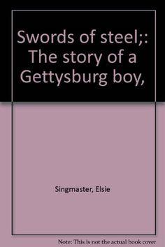 1934 Newbery Honor Swords of Steel: The Story of a Gettysburg Boy by Elsie Singmaster http://www.amazon.com/dp/B0006AM9F8/ref=cm_sw_r_pi_dp_X-Q7tb0AMSDJ4