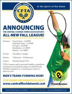 Announcing CFTA's New Fall League!