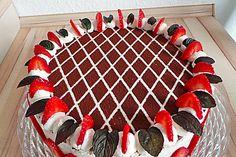 Himbeer - Schachbrett - Torte (Rezept mit Bild) von bloody_squirrel | Chefkoch.de