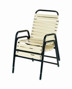 STRAP PATIO DINING CHAIRS