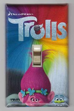 Trolls+Decorative+Light+Switch+Covers