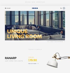 IKEA Web Redesign - UI and UX Design
