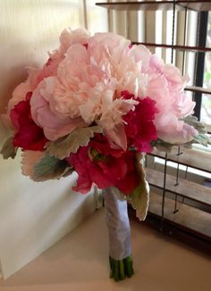 Peonies, ranunculus, garden roses.  All inBllom Flowers, Columbus OH