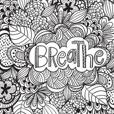 Anxiety Coloring Books New Joyful Inspiration Adult Coloring Book 31 Stress Relieving Designs Artists Coloring Books Tattoo Coloring Book, Quote Coloring Pages, Printable Adult Coloring Pages, Free Coloring Pages, Coloring Books, Coloring Sheets, Abstract Coloring Pages, Mandala Coloring, Doodle Coloring
