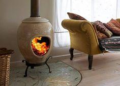 Fire Pots, Glazes For Pottery, Glazed Pottery, Natural Building, Fire Pit Backyard, Clay Pots, Luxury Furniture, Decoration, Stove