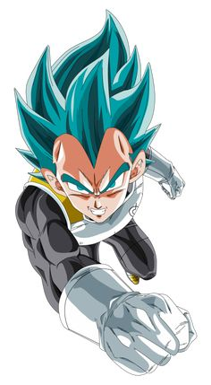 vegeta ssj god blue by naironkr on DeviantArt