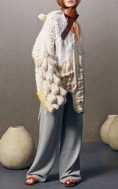 Hand Knit Sweater by TUINCH for Preorder on Moda Operandi