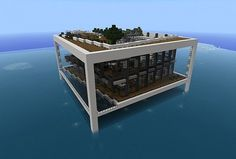 Waterfront Home Minecraft Project