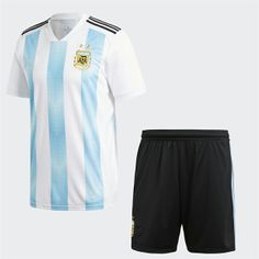 2018 World Cup Kit Argentina Home Replica Blue Suit 2018 World Cup Kit  Argentina Home Replica Blue Suit  21ee0e253