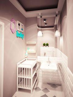 kawiarnia w Tarnowie - toaleta Furniture, Interior Design Projects, Interior, Simply Home, Table, Home Decor, Bathtub