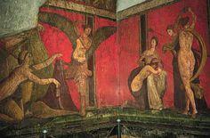 Villa of Mysteries Pompeii