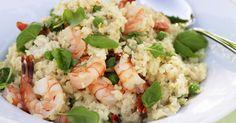 Probieren Sie das leckere Garnelen-Risotto mit Basilikum von EAT SMARTER oder eines unserer anderen gesunden Rezepte!