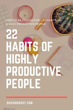 Want to know how to be productive? Follow these 22 productivity habits, tips, and hacks of productive people. #howtobeproductive #productivity #productive Time Management Activities, Time Management Printable, Time Management Quotes, Time Management Skills, Productive Things To Do, Things To Do At Home, Productive Day, High School Activities, Activities For Adults
