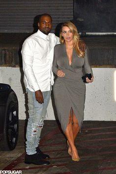 Celeb Diary: Kanye West & Kim Kardashian @ LA Opera