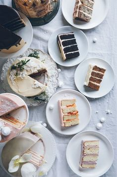 Layer cakes, Pretty Cakes, Cakes too Pretty to Eat Pretty Cakes, Beautiful Cakes, Sweet Recipes, Cake Recipes, Brunch Recipes, Food Porn, Slow Cooker Desserts, Piece Of Cakes, Eat Cake