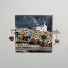 'Apple tree cottage' by Louise O'Hara of Drawntostitch https://www.facebook.com/DrawntoStitch