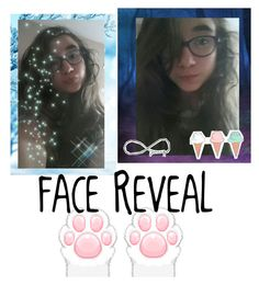 """""""here is another face reveal :3"""" by gabsterrabster ❤ liked on Polyvore featuring beauty"""